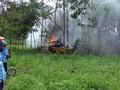TNI AU Isyaratkan Tak Buka Hasil Investigasi Pesawat Jatuh