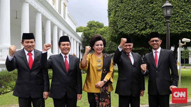 Pimpinan KPK Rembukan Nasib Aris Budiman dan Novel Baswedan