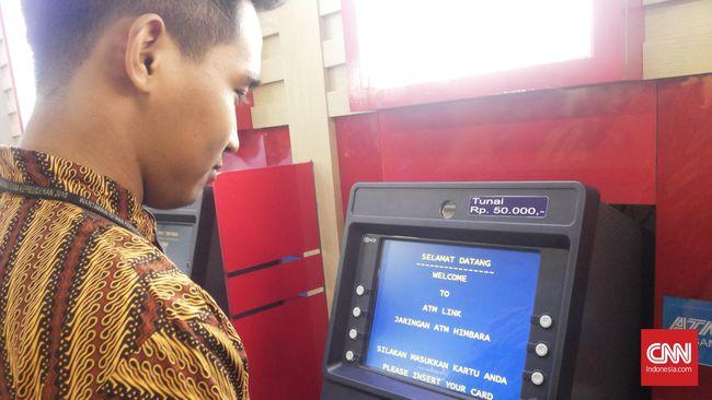 OJK Minta Bank Mitigasi Gangguan ATM