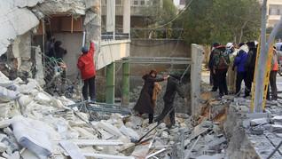 Gempuran Suriah Hantam Rumah Sakit, 11 Warga Sipil Tewas