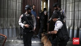 Diancam Bom, Polisi Cek CCTV Mal Teras Kota Serpong