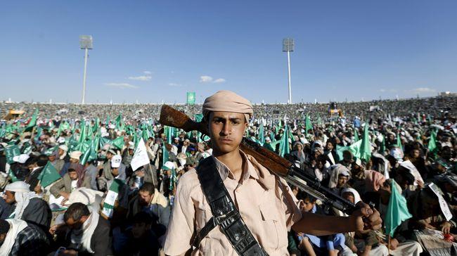 Drone Houthi Serang Bandara di Arab Saudi, 9 Orang Luka