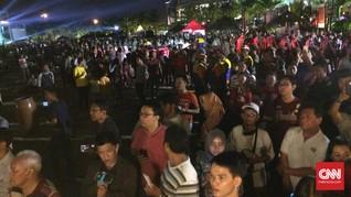 Ribuan Warga Padati Ancol Beach City
