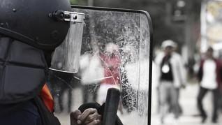 Aksi Unjuk Rasa Buruh Berujung Keributan di Paris