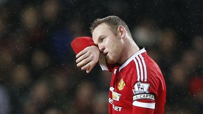 Rooney Absen Dua Bulan, Tiket UCL MU dalam Ancaman