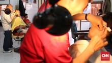 Mayoritas Pangkas Rambut Garut di Jakarta Tutup Imbas Corona
