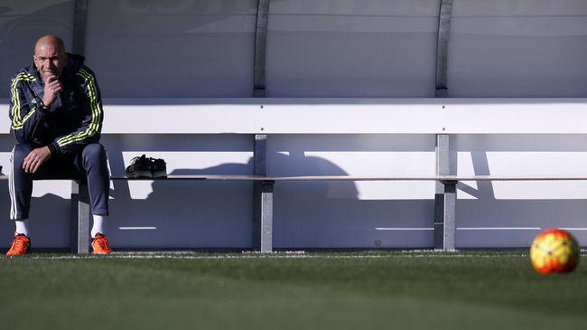 Manajemen Madrid Memperjelas Rezim Zidane Hingga 2018