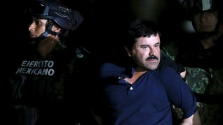 Sidang Perdana, El Chapo Klaim Suap Presiden Meksiko