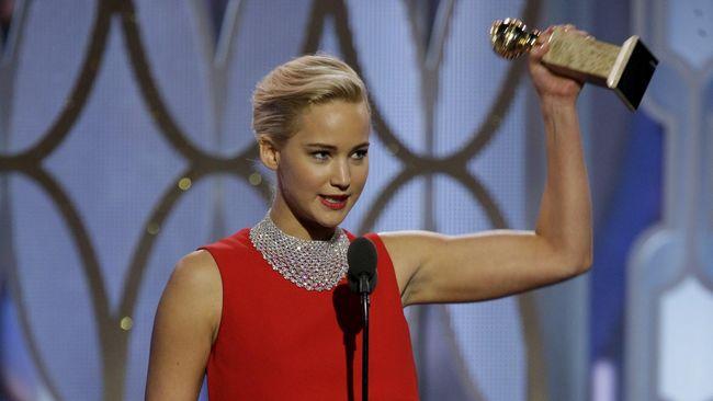 Jennifer Lawrence Sumbang Rp26,7 Miliar untuk Pasien Cilik