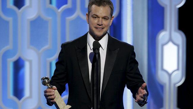 Matt Damon Bantah Bela Pelecehan Seksual Harvey Weinstein