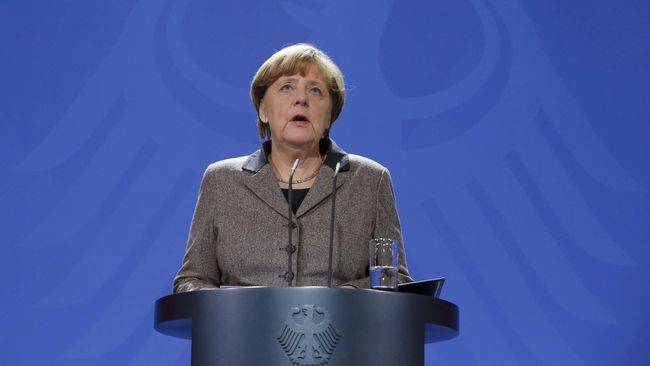 Pamor Kanselir Jerman Terus Turun karena Isu Imigran
