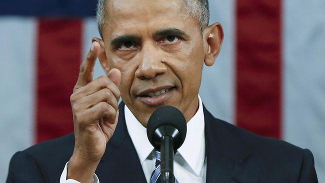 Obama: AS Akan Tindak Tegas Rusia Terkait Peretasan Pemilu