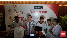 Pesepak Bola Top Indonesia Gelar Laga Amal
