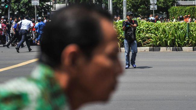 ISIS Klaim Serangan Bom di Jakarta
