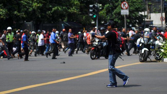 LIVE: Ledakan di Jakarta, ISIS Klaim Bertanggung Jawab