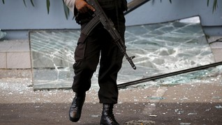Penyerang Pospol Lamongan Diduga Sakit Hati Dipecat Polri