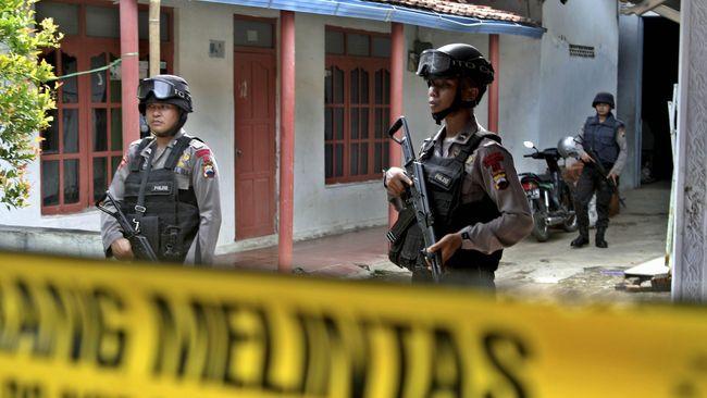 Terduga Teroris di Tangerang Terlibat Bom Cimanggis 2004