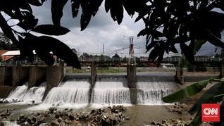 Bogor Hujan, Ketinggian Air Bendungan Katulampa Masih Normal