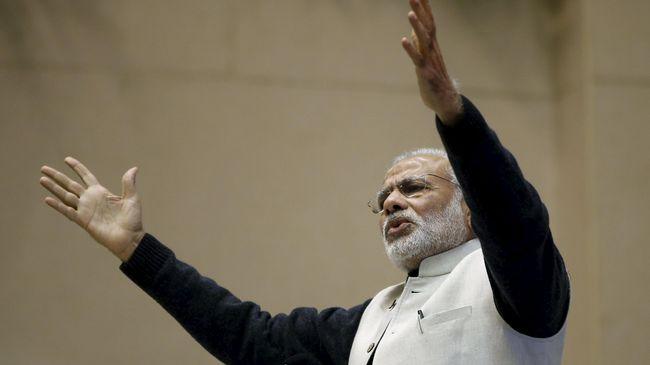 Jas Termahal PM India Catat Rekor Dunia