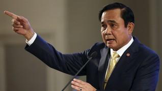 PM Thailand Perintahkan Pembubaran Junta, Militer Tetap Kuat