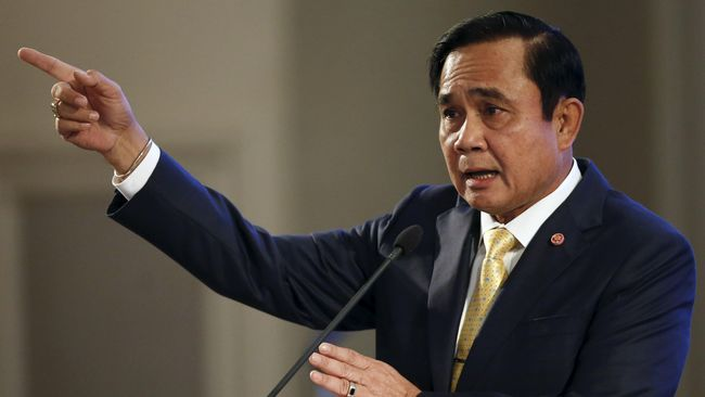 PM Thailand Umbar Wacana Pindahkan Ibu Kota