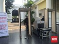 Pascateror Jakarta, Pengamanan Istana Diperketat