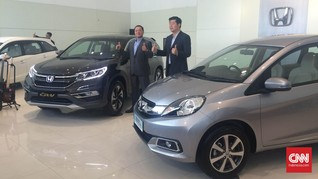 Target Penjualan Naik 8,26 Persen, Honda Siapkan Mobilio Baru