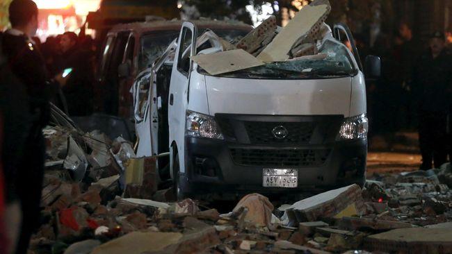 Serangan Kelompok Militan ke Mesir, 18 Orang Tewas