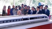 China Yakin Proyek Kereta Cepat Jakarta Bandung Rampung 2021