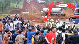 Konstruksi Kereta Cepat Jakarta-Bandung Baru 5 Persen