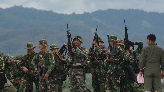Kejar Kelompok Bersenjata Papua, Ratusan TNI/Polri Dikerahkan