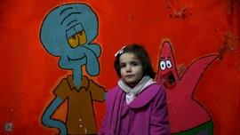 Setitik Kebahagiaan Anak-anak Korban Perang Suriah