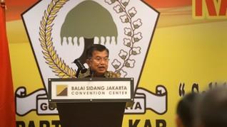 Kader Golkar Temui Jusuf Kalla Bahas Status Setya Novanto
