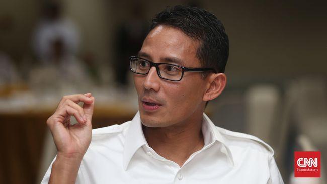 Sandi Mengaku Gantikan Ratna Sarumpaet dengan Dokter Gamal