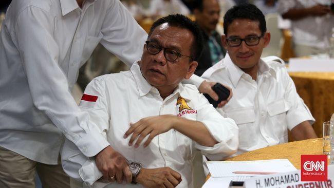 M Taufik Klaim Sandi Tak Mungkin Kembali ke Balai Kota DKI