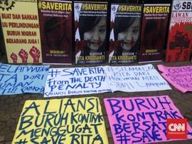 'Kerikil-kerikil' Buruh Migran di Tangan Jokowi