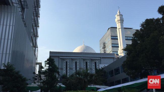 Resmikan Masjid Fatahillah, Presiden Jokowi Sindir Ahok