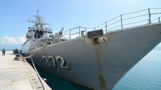 TNI AL Belum Akan Tambah Armada Di Laut Natuna