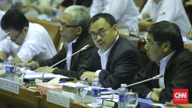 Menteri ESDM Tunggu Kesiapan DPR Bahas RUU Minerba
