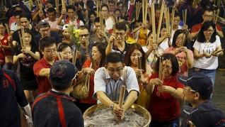 Warna-warni Perayaan Imlek di Seluruh Dunia