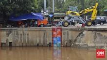 Hujan Deras Pagi Ini, Pintu Air Karet Jakarta Siaga 1
