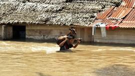 10 Desa di 3 Kecamatan Banggai Tergenang Banjir, 1 Tewas