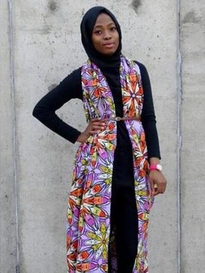 Foto: Haneefah Adam, Hijabers Nigeria Pencetus Barbie Berhijab 5