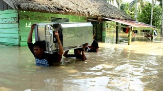Siklon Tropis Cempaka Telan Korban Jiwa di Yogyakarta