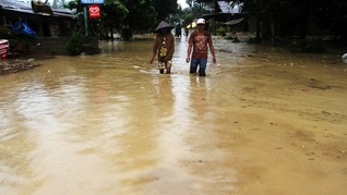Dua Balita Meninggal Terseret Arus Banjir Sumbar
