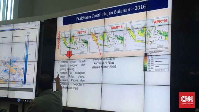 Rekor Baru, Indonesia Dilanda 2.342 Bencana Sepanjang 2016