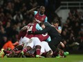 West Ham Gagal Gusur Manchester United
