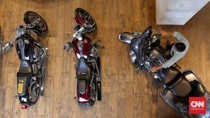 Komunitas Harley-Davidson Tak Kenal Dirut Garuda