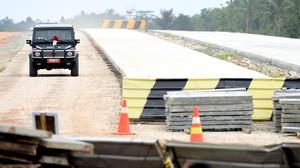 Presiden Jokowi Bakal Resmikan Jalan Tol Trans Sumatera