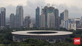 Jelang Asian Games, Kawasan Gelora Bung Karno Ditutup